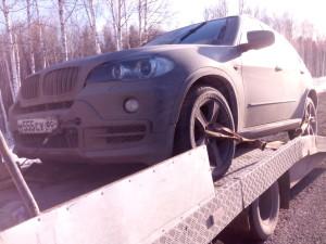 Эвакуируем BMW