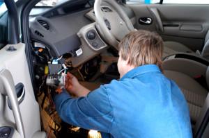 Отключение, разблокировка и ремонт автосигнализации